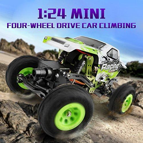 1:24 Skala RC Rennwagen 2.4G Hochgeschwindigkeits-4WD Elektrischer Energie-Buggy weg vom Straßen-Auto - 2