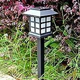 4-pack/solar lampe garten lampe/aluminium wandleuchte led solar energie kreative wandleuchte Chinesischen stil retro garten villa im freien straßenlaterne garten lampe