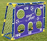 BSD Fußballtor mit Torwand 26002 - Fußballtor Set