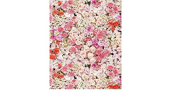 Muzi D 3094 Fotohintergrund Mit Blumen Bunt Florales Kamera