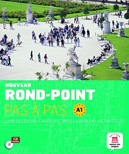 Nouveau Rond-Point pas à pas A1 - 9788468321554 por Difusión