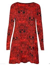 EASY BUYY - Vestido - Túnica - Manga Larga - para mujer