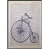 La bicicleta hobmres amazónicas diccionario página de cuadro