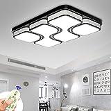 MYHOO 78W Moderne LED Lampe de plafond Dimmable LED Plafonnier Chambre à coucher Cuisine Couloir Lampe de salon Lumière mural