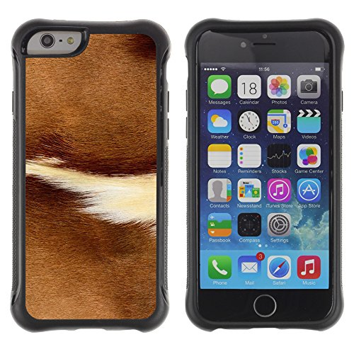 Graphic4You ALIEN SYMBOLS Muster Shockproof Anti-Rutsch Weichen Hülle Case Tasche Schutzhülle für Apple iPhone 6 Plus / 6S Plus Design #7