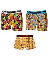 Freegun Lot 3 Boxers Homme Chupa Chups