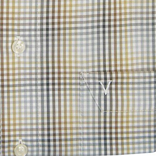 MARVELiS-Hemd Modern-Fit 7214-52-28 Braun halbarm Braun