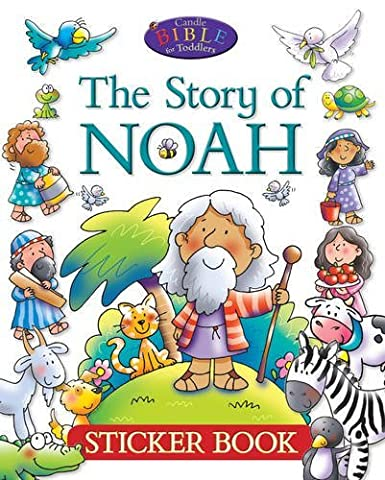 The Story of Noah: Sticker Book (Candle Bible for Toddlers)