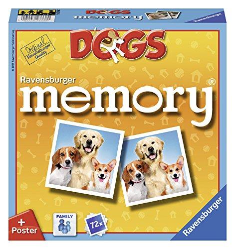 Ravensburger 26629 - Memory Cani Gioco di Memoria