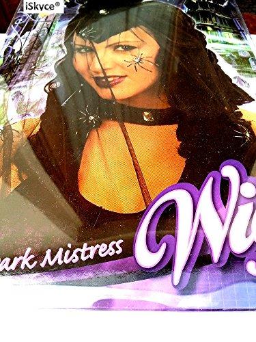 Perücke Dark Mistress–Mehr Echte Tropfenoptik. Sie wird eines Bel Effekt auf sie. Artikel Entertainment-für Erwachsene und Artikel nicht empfohlen für unter 14Jahren. Achtung bitte Sie weit davon entfernt bleiben einer Flamme und einer starken Wärmequelle