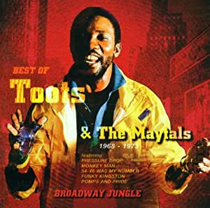 Broadway Jungle : The Best Of Toots & The Maytals [Import anglais]