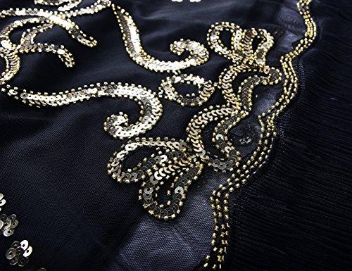PrettyGuide -  Vestito  - Maniche corte  - Donna Gold