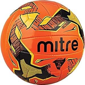 Mitre Malmo Training Football - Orange/Yellow, Size 3