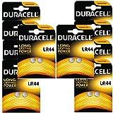 Duracell Alkaline-Batterien LR44 A76, 1,5V, 20Stück