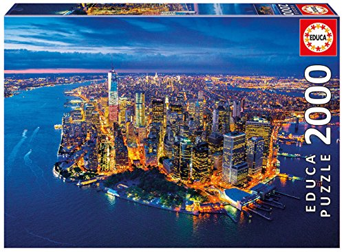 Educa Borrás Puzzle Nueva York desde el aire, 2000 piezas (16773.0)