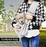 Aodoor Single-Schulter Sling Bag Haustier Hund Katze Tasche Rucksack für Hunde Hunderucksack - 6