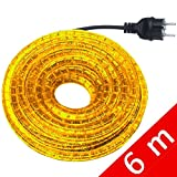 Gev - Tubo Luminoso - Kit 6 M Giallo