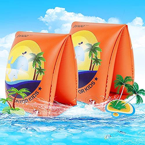 Innoo Tech Schwimmflügel, Schwimmflügel Kinder 2-6 Jahre Schwimmhilfen Doppelkammersystem, Körpergewicht 15 bis 30 kg