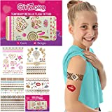 Best Toys For A 10 Year Old Girls - GirlZone GIFTS FOR GIRLS: Metallic Flash Tattoos For Review