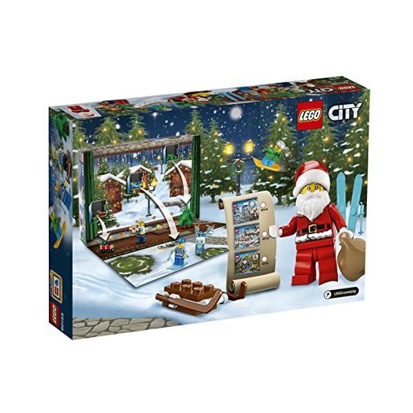 LEGO- City Calendario dell'Avvento, Multicolore, 60155 2 spesavip