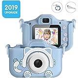 "Kids Camera for Boys, Camera for Kids, Kids Digital Camera, Shockproof Children Video Camera Camcorder, 20MP HD 2"" Screen Sel"