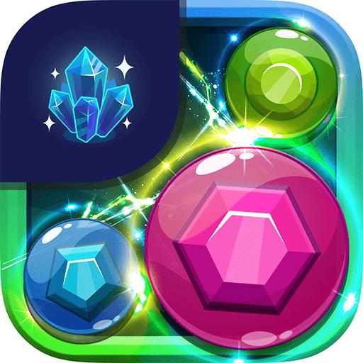 Gems Quest Deluxe - Pleasant Match 3 Puzzle Mania