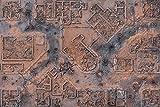 Desert Warzone City 6x4 Gaming Mat