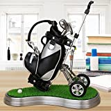 Golf Gift ,Mini desktop golf bag pen holder - Best Reviews Guide