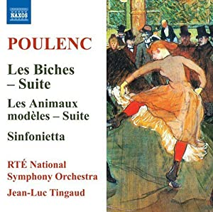 Poulenc: Les Biches - Suite [RTÉ National Symphony Orchestra; Jean-Luc Tingaud; Jean-Luc Tingaud] [Naxos: 8573739] from Naxos