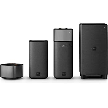 Philips Fidelio E6 Surround On Demand Home Cinema Speaker (Bluetooth ...