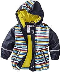 Huateng Kinder Wasserdichte Regenmäntel Unisex Warme Jacke Outdoor Wandern Wasserdicht Wasserdicht Winddicht Kapuzen