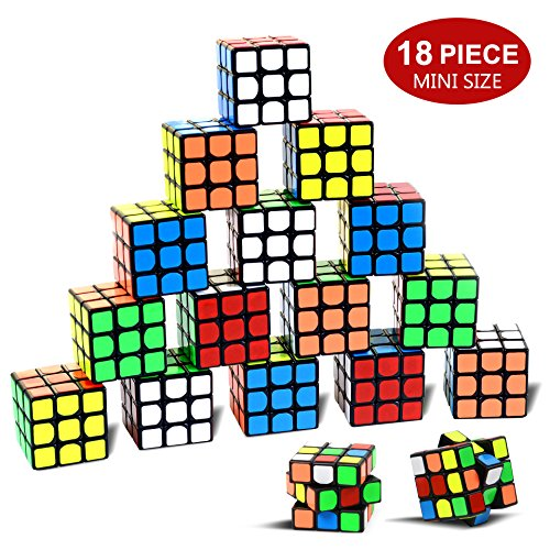 Party Puzzle Spielzeug, 18 Pack Mini Würfel Set Party Favors Cuabe Puzzle,1.18