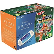 Console PSP Street Blanche + Invizimals: Triple Pack Invizimals Essentials + Caméra [Importación Francesa]