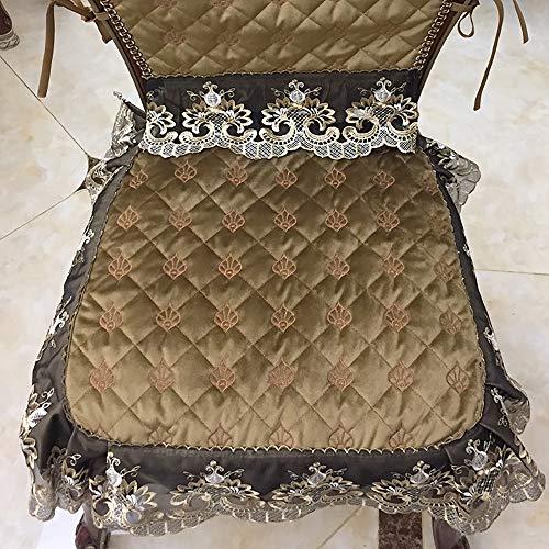 GWLGWL Stuhlkissen Sitzkissen Mit Schleifenband Stuhlkissen Für Esszimmer Mit Schleife Stuhl Kissen Stuhlauflage Extra Dick Und Bequem Leinenlook - 48x48CM