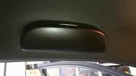 Lfotpp Auto Zubehör Sonnenbrillenhalter Brillenetui Innenraum Für C Hr Ngx50 Zyx10 Schwarz Auto