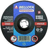 Bellota Profesional - Disco abrasivo, desbaste inox-metal, blando 230 mm)