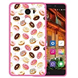 WoowCase Elephone P9000 Hülle, Handyhülle Silikon für [ Elephone P9000 ] Donuts Handytasche Handy Cover Case Schutzhülle Flexible TPU - Rosa