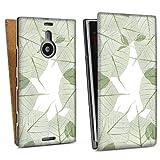 Nokia Lumia 1520 Downflip Bag white - Blätterrahmen