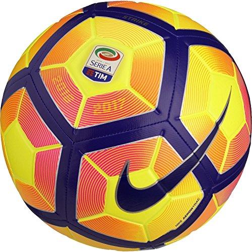 Pallone Nike Strike Stagione 2016 2017 Serie A TIM invernale Calcio / Calcetto 5 giallo