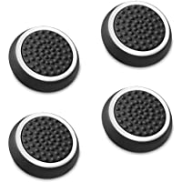 Fosmon Silicone Thumb Stick Analog Controller Grip Caps (4 pack / 2 Pair) for PS4, PS3, Wii U,…