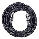 High Speed 18Gbps câble HDMI 0,9m–HDMI 2.04K 30AWG Cord-video tressée 4K 2160p, HD 1080p-3d 60fps câble pour TV HD LCD pour ordinateur portable PS4PS3Vidéoprojecteur ordinateur câble