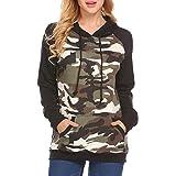 OverDose Damen Herbst Winter Sport Style Fashion Camouflage
