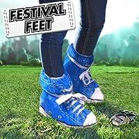 Festivo pies cubiertas del zapato - colores aleatorios