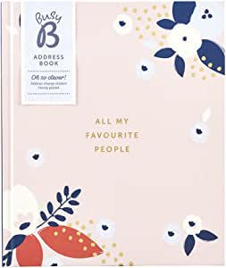 Hardback Address Book - Wider Than A5 - All My Favourite People