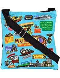 Eco Corner Women's Sling Bag (Multi-Coloured, 2751)