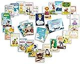 44 wunderbare Baby Meilenstein Karten - Geschenk zur Geburt und Schwangerschaft - Meilensteinkarten fürs erste Lebensjahr, Baby Cards für Jungen und Mädchen