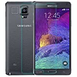 Samsung Galaxy Note 4 Screen Protector, Premium Oil Resistant Coated Tempered Glass Screen Protector Film Guard for Samsung N910, Anti-Explosion [Life-Time Guarantee]