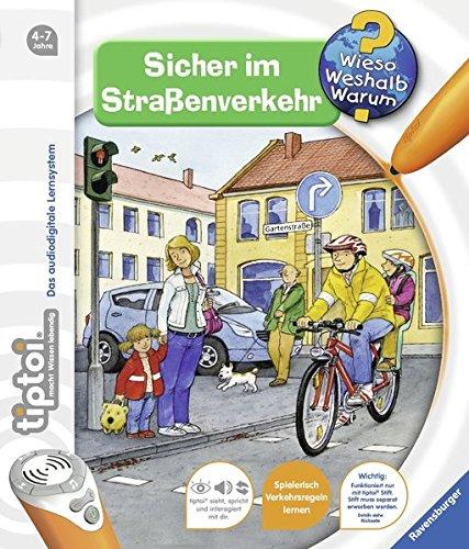 Preisvergleich Produktbild Sicher im Straßenverkehr (tiptoi® Wieso Weshalb Warum, Band 4)