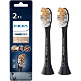 Philips Sonicare - A3 Premium All-in-One Opzetborstels - 2 stuks - Standaard formaat - Opklikbaar - BrushSync - Voor gezonder