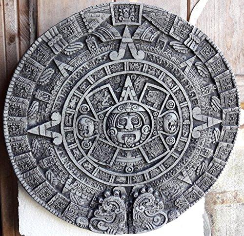 Koi-Börse Der Maya Kalender in Stein ca.32 cm im Durchmesser und ca. 2 cm Dick, 1,4 Kg